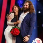 Tu si que vales, Belen Rodriguez: incidente sexy mentre balla con Castrogiovanni