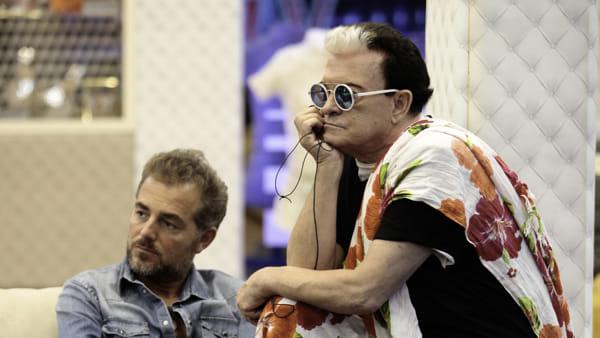 """Grande Fratello Vip, Cristiano Malgioglio annuncia il colpo di scena: """"Apro la porta rossae me ne vado via"""""""