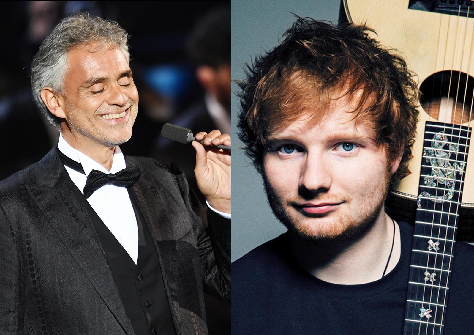 "Ed Sheeran feat. Andrea Bocelli: ""Perfect"" arriva in italiano"