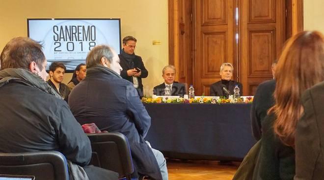 Sanremo 2018: La prima conferenza stampa – TUTTI I BIG