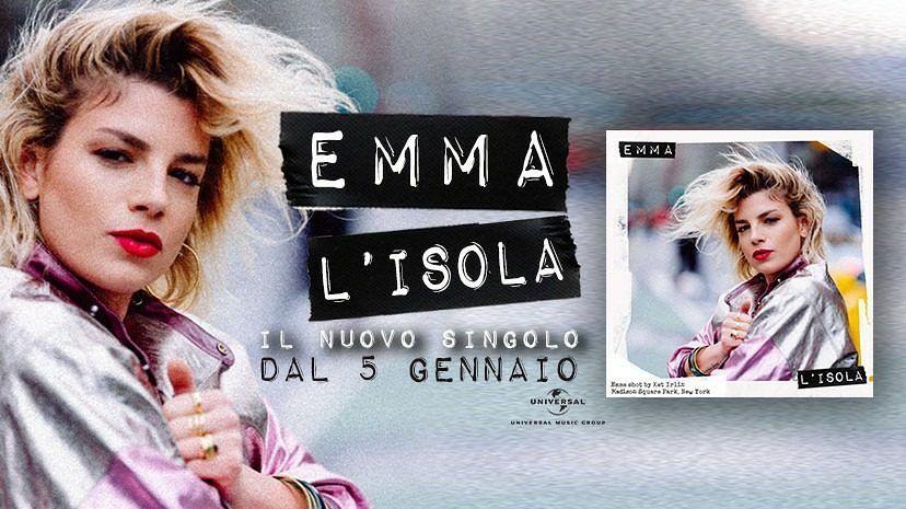 """Emma Marrone, """"L'Isola"""" è il nuovo singolo (TESTO e VIDEO)"""