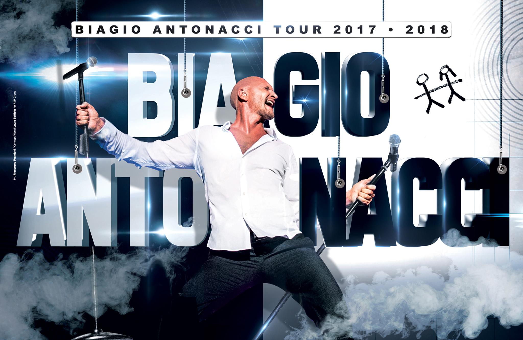 """Biagio Antonacci, """"Fortuna che ci sei"""" è il nuovo singolo"""