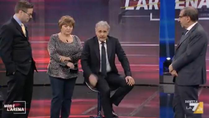 """Massimo Giletti, ecco come sta dopo l'interruzione di """"Non è l'Arena"""" (VIDEO)"""