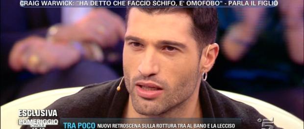 """Michael Terlizzi difende il padre: """"Mio padre non è omofobo"""""""
