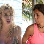 Valeria Marini e Alessia Mancini hanno litigato: il motivo