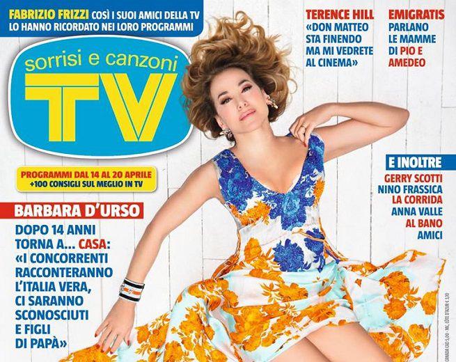 """Barbara D'Urso al GF, la copertina e l'intervista di """"Tv Sorrisi e Canzoni"""""""