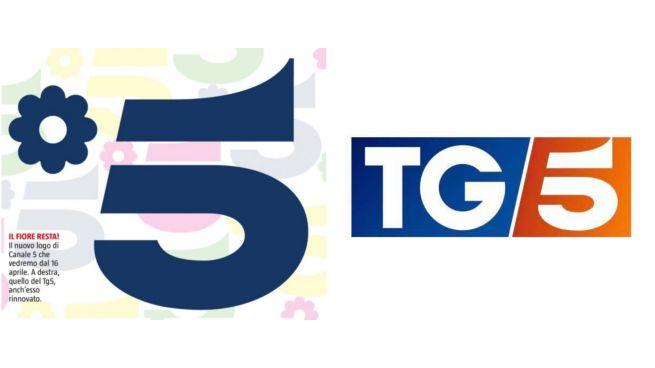 Canale 5, la nuova grafica del canale e del TG5 dal 16 aprile