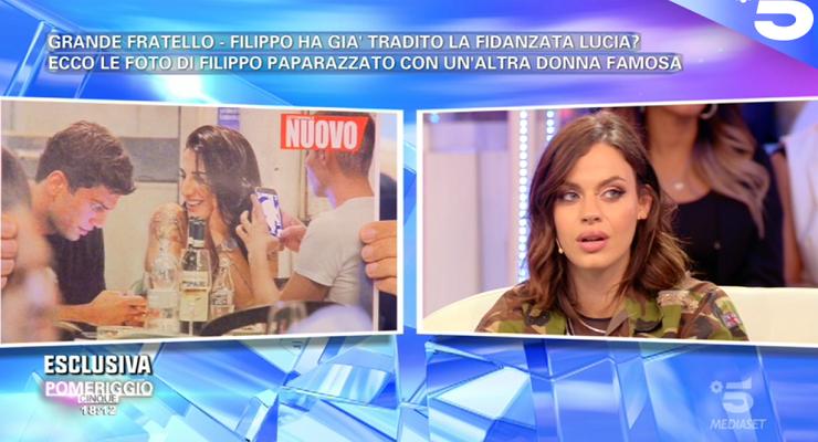 Filippo Contri con Patrizia Bonetti, la reazione di Lucia