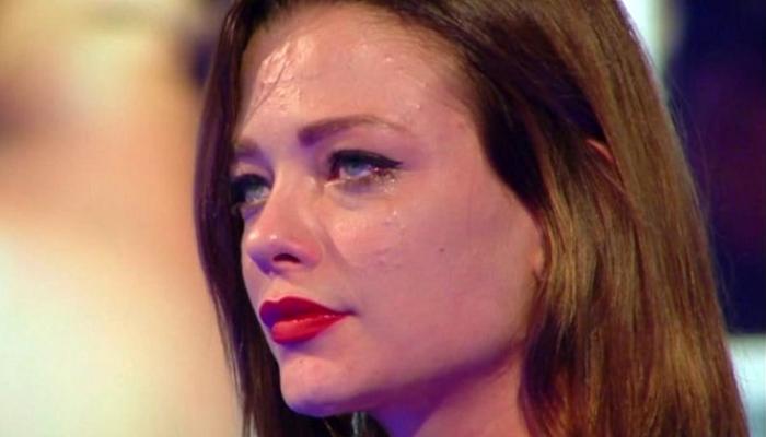 Silvia Provvedi in lacrime al GF Vip