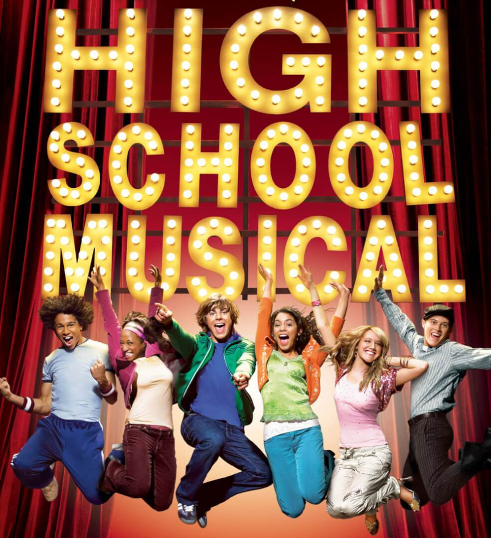 Disney, i personaggi della serie su High School Musical