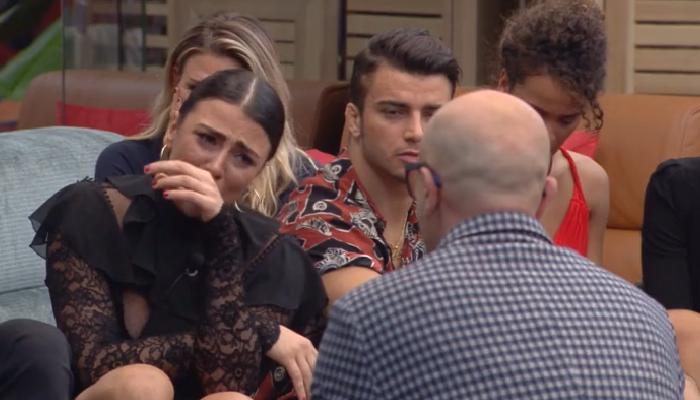 Giulia Salemi incontra il padre al GF Vip: ecco cosa le ha detto