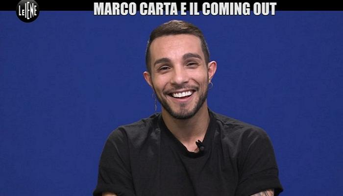 """Marca Carta confessa: """"All'inizio non accettavo di stare con un uomo"""""""