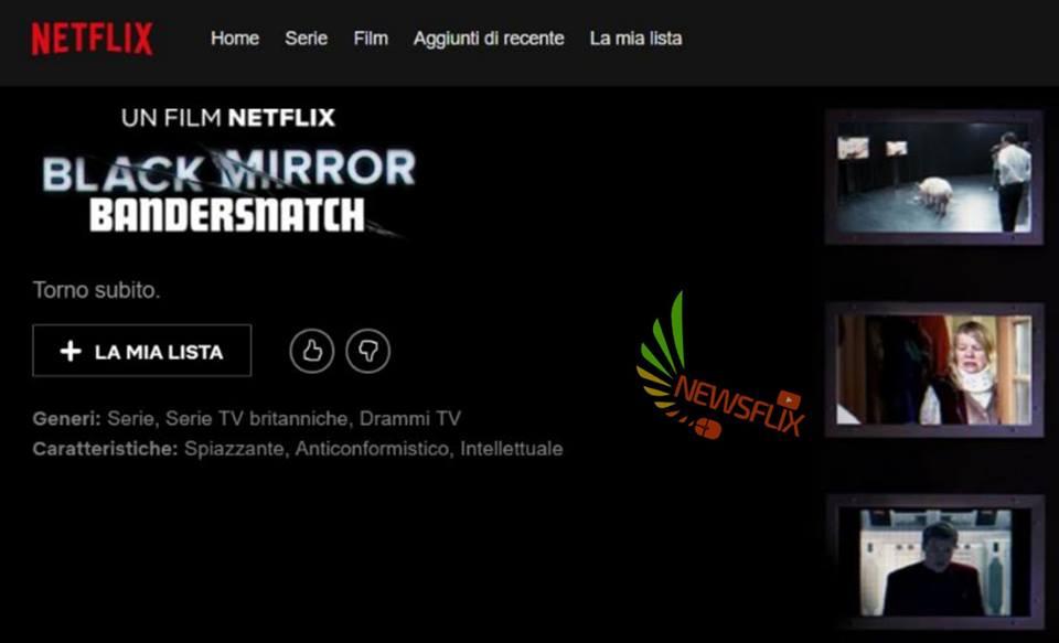 Black Mirror 5: 'Bandersnatch'  è un film