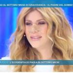 """Paola Caruso a 'Domenica Live': """"Sono stata cacciata di casa dal padre di mio figlio"""""""