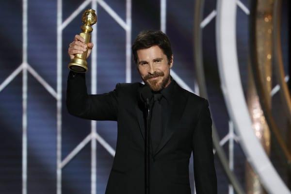 "Christian Bale ""ringrazia Satana"" ai Golden Globes 2019: Video"
