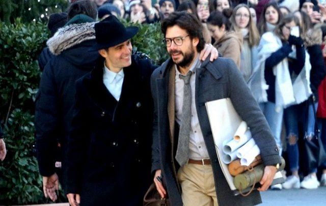 """Berlino ed El Professor de """"La casa di Carta"""" a Firenze"""