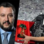 Matteo Salvini contro la giuria d'onore del Festival di Sanremo