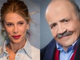 Alessia Maruczzi e Maurizio Costanzo
