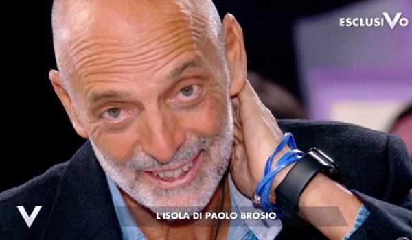 """Paolo Brosio svela: """"All'Isola ho dato tutto, non ho rimpianti"""""""
