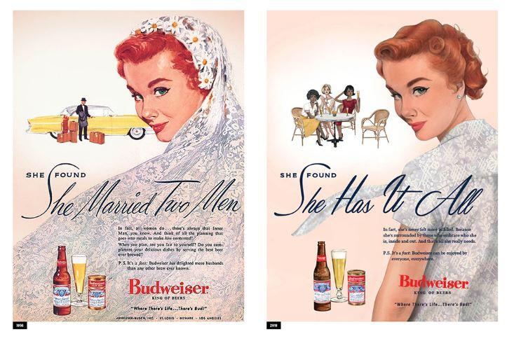 Budweiser reinventa le pubblicità della sua birra