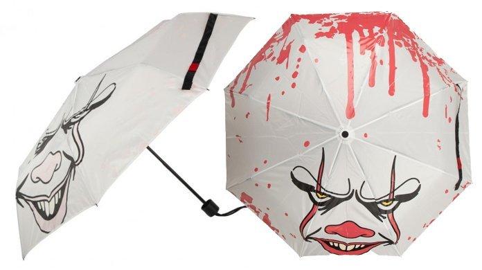 Una pioggia di sangue per gli appassionati dell'horror : ecco l'ombrello di It