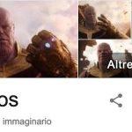 Il potere di Thanos colpisce Google: il nuovo Easter egg dedicato al titano della Marvel