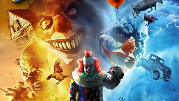 Un tornado di follia e clown demoniaci, ecco l'erede di Sharknado