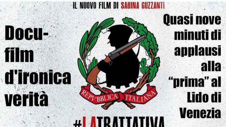 """""""La Trattativa"""" di Sabina Guzzanti su Rai 2: il film non è più proibito e andrà in onda giovedì."""