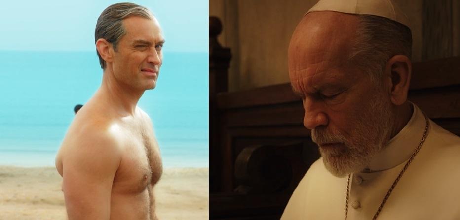 """Jude Law torna a fare papa Pio tredicesimo, ecco il trailer di """"The new pope"""""""