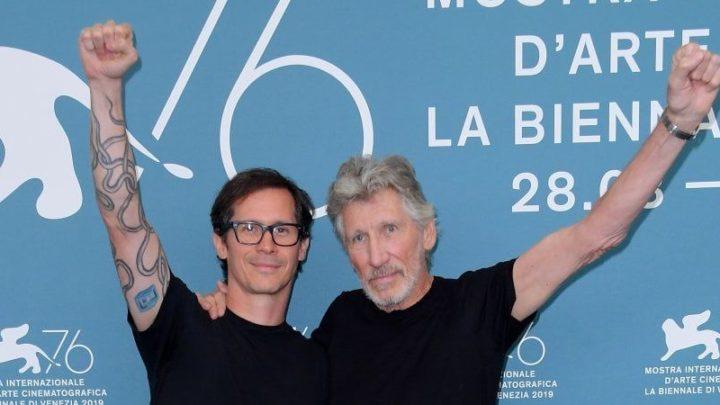 """Il ruggito di Roger Waters al Festival di Venezia:"""" Una vita vale più dei fo***i Iphone"""""""