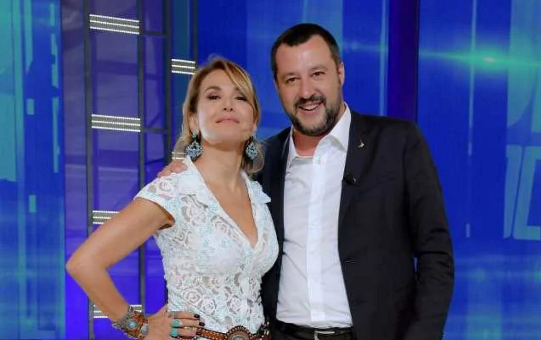 Live - Non è la d'Urso, Matteo Salvini