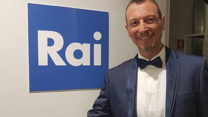 Sanremo 2020, Antonella Clerici e Roberto Benigni affiancheranno Amadeus?