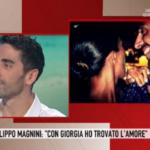 """Filippo Magnini a Storie Italiane: """"Ho conquistato Giorgia con un tiramisù"""""""
