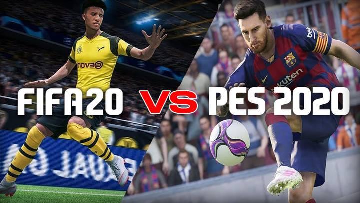 FIFA 20 vs PES 2020   Qual è il miglior titolo calcistico di quest'anno?