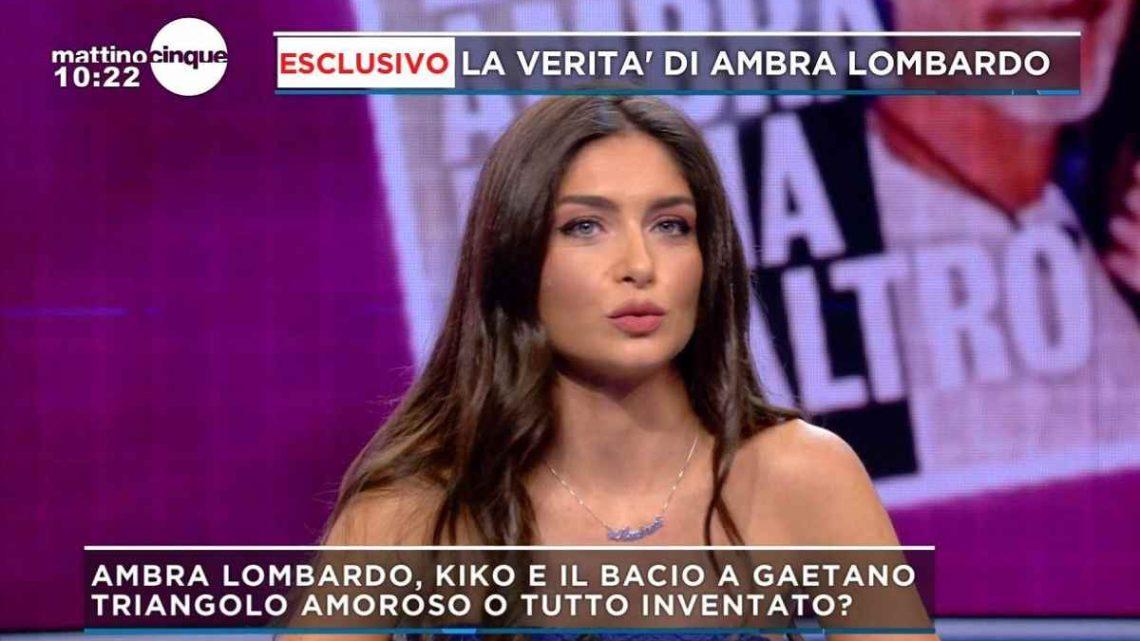 """Ambra Lombardo contro Gaetano: """"Penso che mi abbia spinta in trappola, ha tradito la mia fiducia"""""""