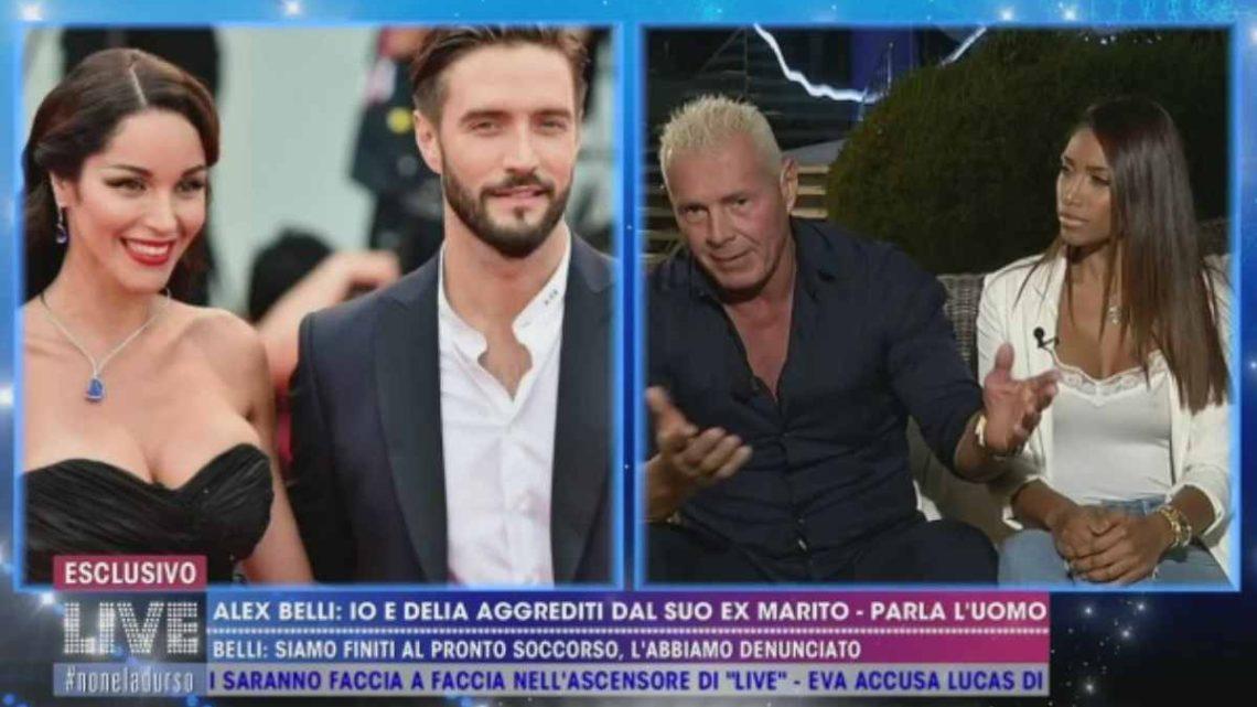 Alex BellieDelia Duran aggrediti dall'ex marito della modella? Lui smentisce