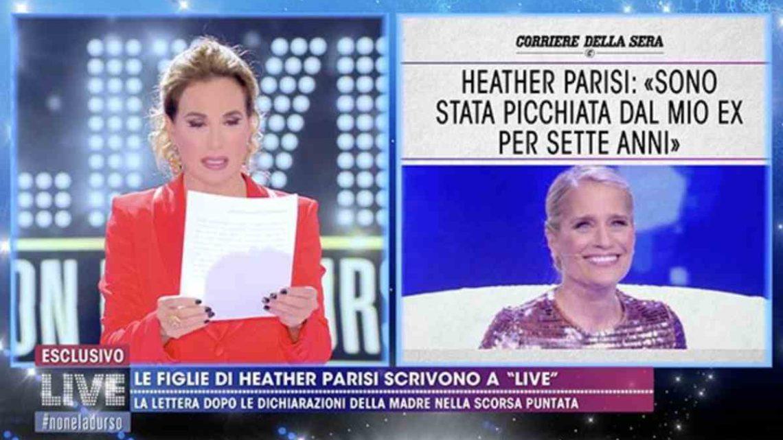 """Heather Parisi, lettera delle figlie alla d'Urso: """"I nostri papà sono estranei ai fatti"""""""