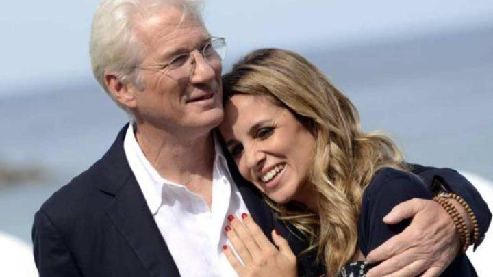 Richard Gere, papà per la terza volta a 70 anni: la moglie Alejandra Silva è incinta