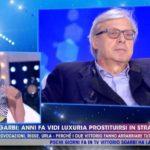 """Vittorio Sgarbi si scaglia contro Vladimir Luxuria: """"Eri una prostituta, non negare"""""""