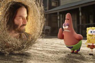 Keanu il cespuglio: il folle trailer del nuovo film di Spongebob