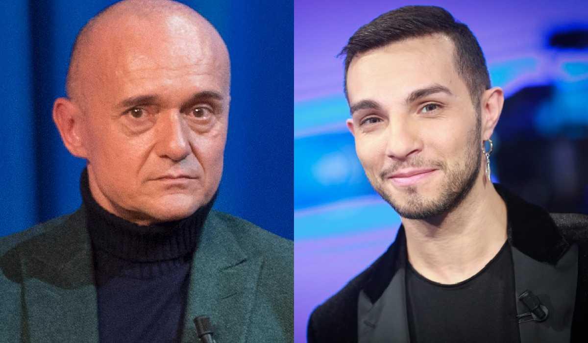 Marco Carta e Alfonso Signorini