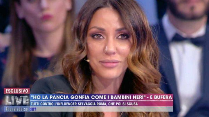 """Selvaggia Roma massacrata sul web, a Live-Non è la d'Urso dice: """"Mi scuso per la leggerezza"""""""