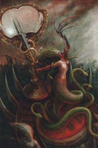 Lo sguardo che uccide    ecco la Medusa dei Druchii per Total War Warhammer 2