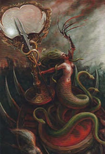 Lo sguardo che uccide: ecco la Medusa dei Druchii per Total War Warhammer 2