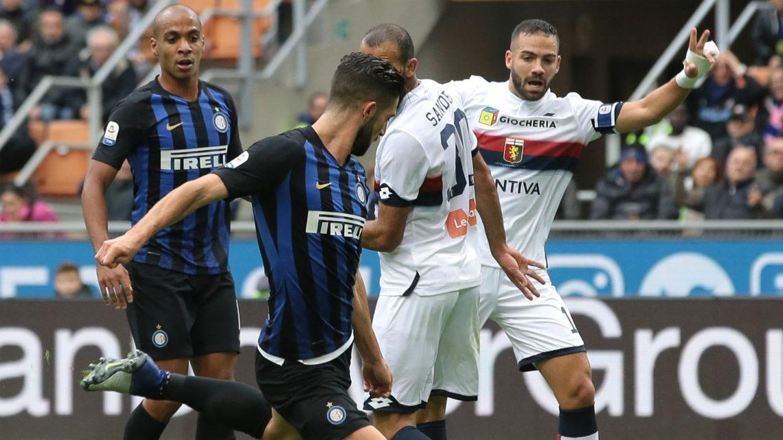 Inter – Genoa | Dove vedere l'anticipo delle 18 di sabato 21 dicembre in diretta e streaming