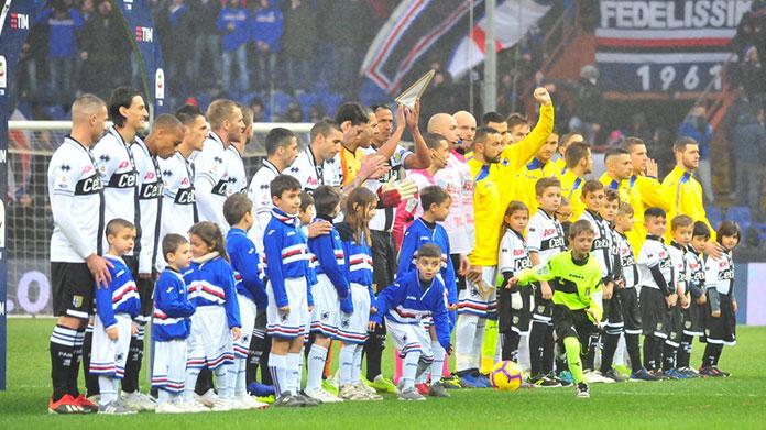 Sampdoria – Parma | Dove vedere il posticipo delle 18 di domenica 8 dicembre in diretta e streaming