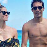 Elena Santarelli alle Maldive con la sua famiglia, la showgirl è troppo magra? Lo sfogo social