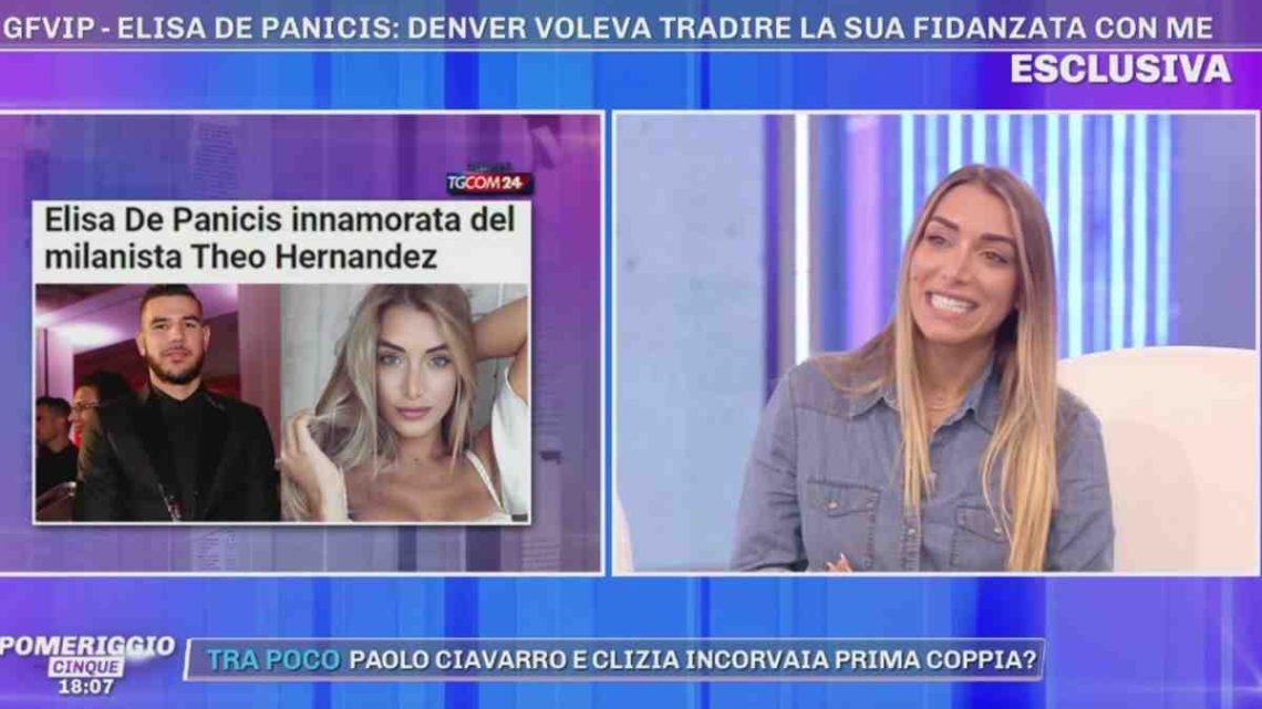 """Elisa De Panicis e Fernandez, storia finita? Lei svela: """"Si è innervosito perché è stato fatto il suo nome"""""""