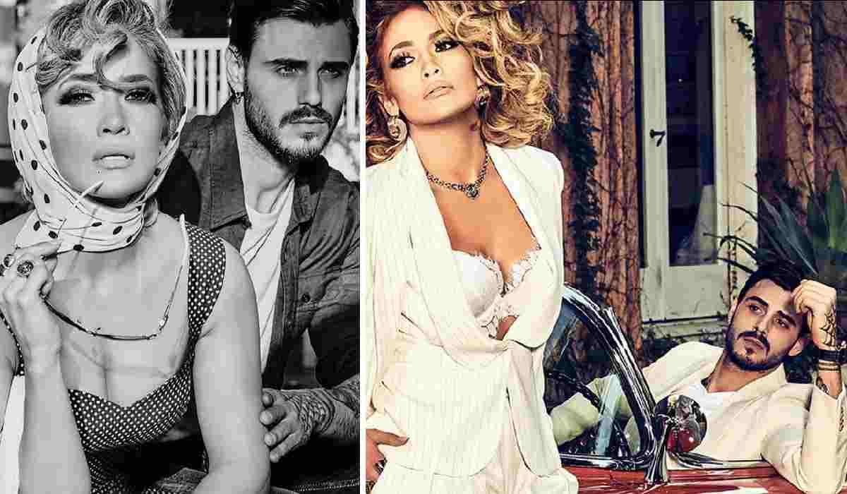 Francesco Monte e Jennifer Lopez