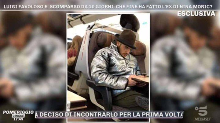 Luigi Favoloso avvistato a Milano dopo la scomparsa: spuntano le prime segnalazioni